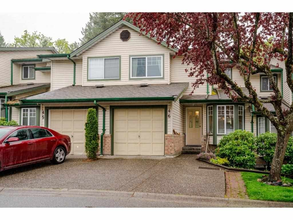 """Main Photo: 46 8863 216 Street in Langley: Walnut Grove Townhouse for sale in """"Emerald Estates"""" : MLS®# R2574730"""
