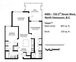 """Photo 20: 405 733 W 3RD Street in North Vancouver: Hamilton Condo for sale in """"The Shore"""" : MLS®# R2069508"""