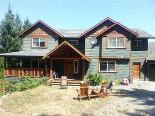 Photo 1: 3268 Shawnigan Lake Rd in COBBLE HILL: ML Shawnigan House for sale (Malahat & Area)  : MLS®# 679539