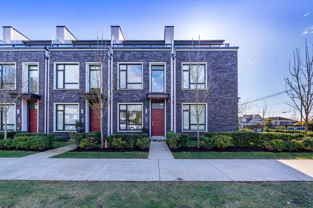 Main Photo: 1496 W 58TH Avenue in Vancouver: South Granville Townhouse for sale (Vancouver West)  : MLS®# R2547398