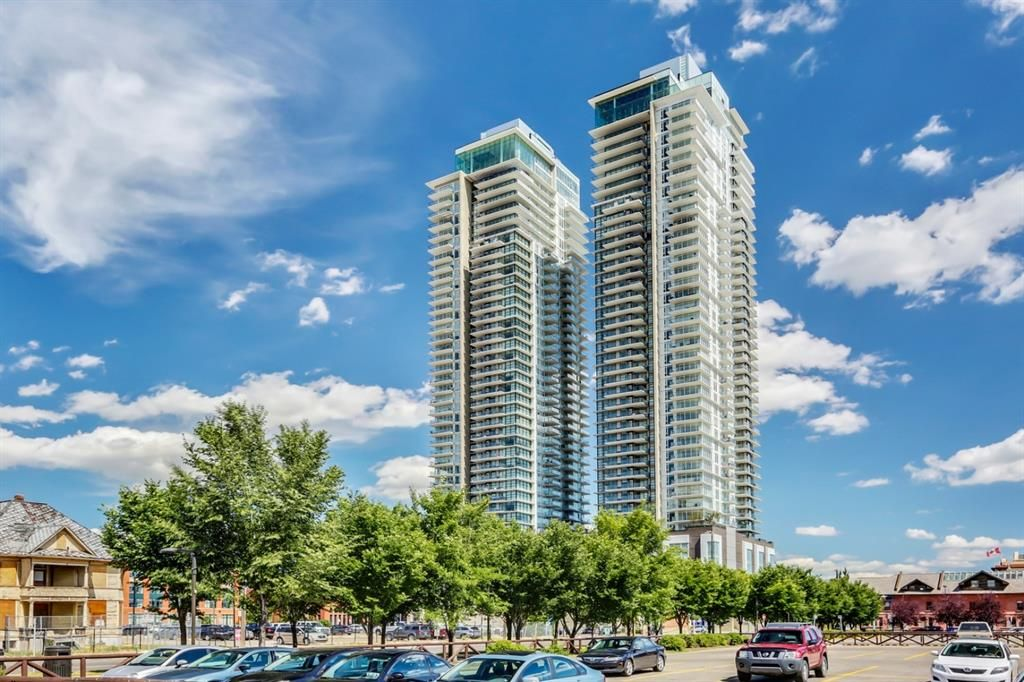Main Photo: 3604 1122 3 Street SE in Calgary: Beltline Apartment for sale : MLS®# A1103340