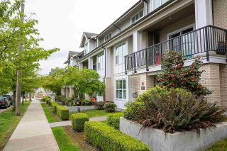 """Photo 1: 103 3788 NORFOLK Street in Burnaby: Central BN Townhouse for sale in """"PANACASA"""" (Burnaby North)  : MLS®# R2576806"""