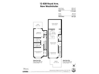 """Photo 34: 12 838 ROYAL Avenue in New Westminster: Downtown NW Townhouse for sale in """"The Brickstone 2"""" : MLS®# R2545434"""