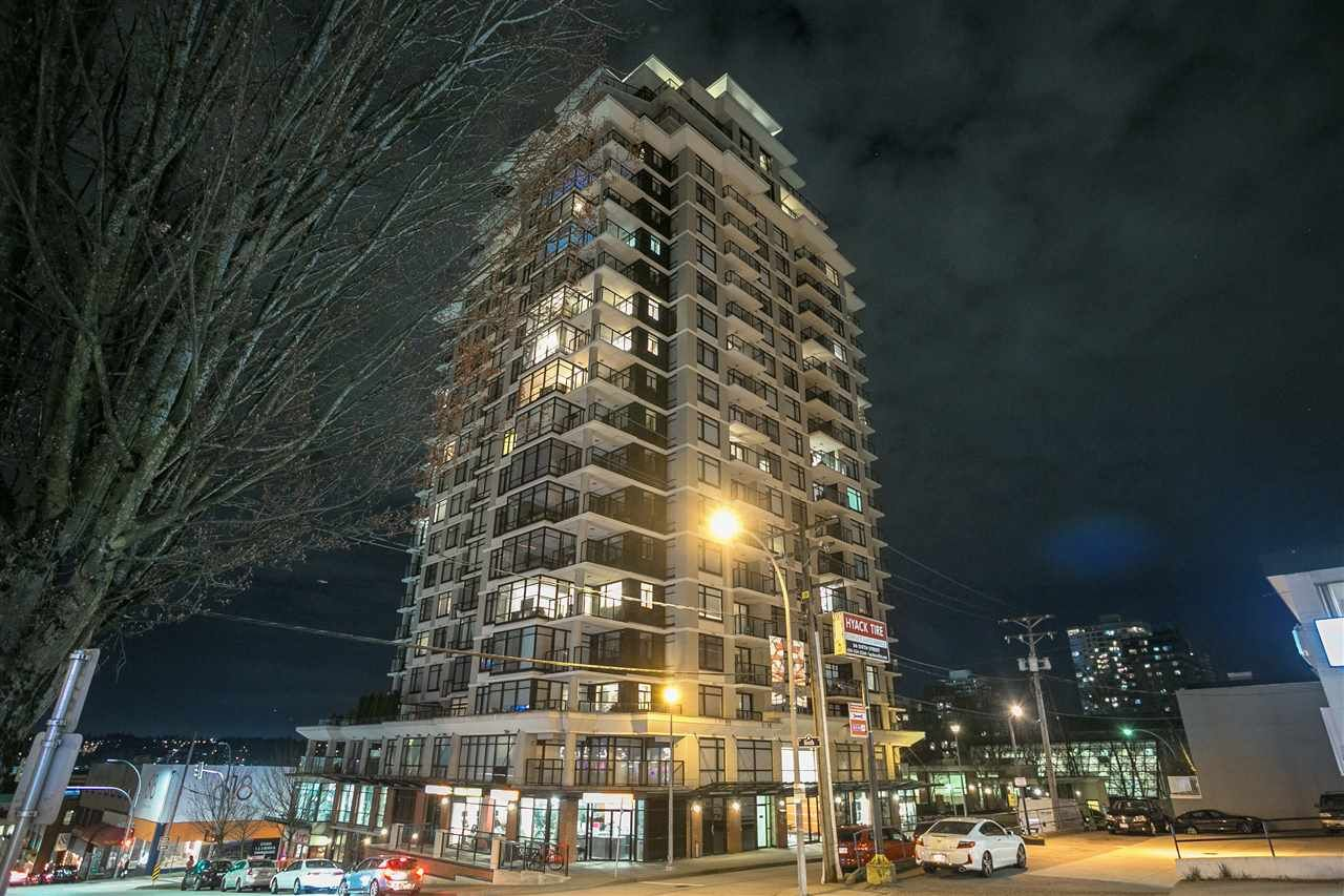 """Main Photo: 1402 610 VICTORIA Street in New Westminster: Downtown NW Condo for sale in """"The Point"""" : MLS®# R2353787"""