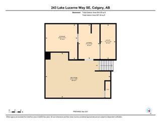 Photo 37: 243 Lake Lucerne Way SE in Calgary: Lake Bonavista Detached for sale : MLS®# A1049420
