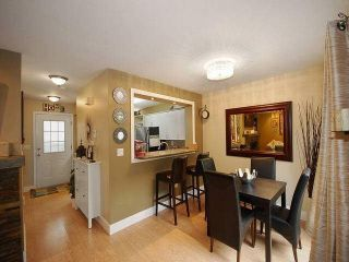 """Photo 5: 38 2736 ATLIN Place in Coquitlam: Coquitlam East Townhouse for sale in """"CEDAR GREEN ESTATES"""" : MLS®# V1137675"""