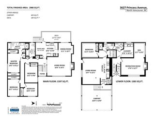 Photo 20: 3627 PRINCESS AVENUE in North Vancouver: Princess Park House for sale : MLS®# R2096519