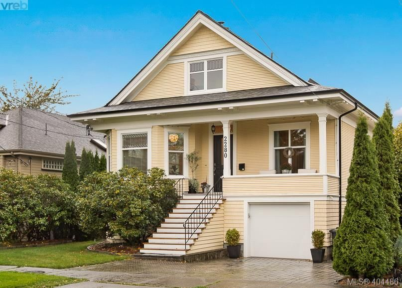 Main Photo: 2280 Florence St in VICTORIA: OB Henderson House for sale (Oak Bay)  : MLS®# 803719