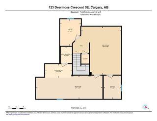 Photo 49: 123 DEERMOSS Crescent SE in Calgary: Deer Run Detached for sale : MLS®# C4287185
