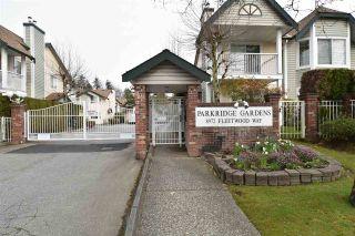 "Photo 1: 402 8972 FLEETWOOD Way in Surrey: Fleetwood Tynehead Townhouse for sale in ""Parkridge Gardens"" : MLS®# R2306698"