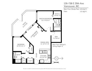 """Photo 20: 126 738 E 29TH Avenue in Vancouver: Fraser VE Condo for sale in """"CENTURY"""" (Vancouver East)  : MLS®# R2131469"""