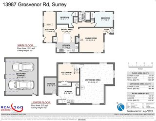 """Photo 34: 13987 GROSVENOR Road in Surrey: Bolivar Heights House for sale in """"bolivar hieghts"""" (North Surrey)  : MLS®# R2596710"""