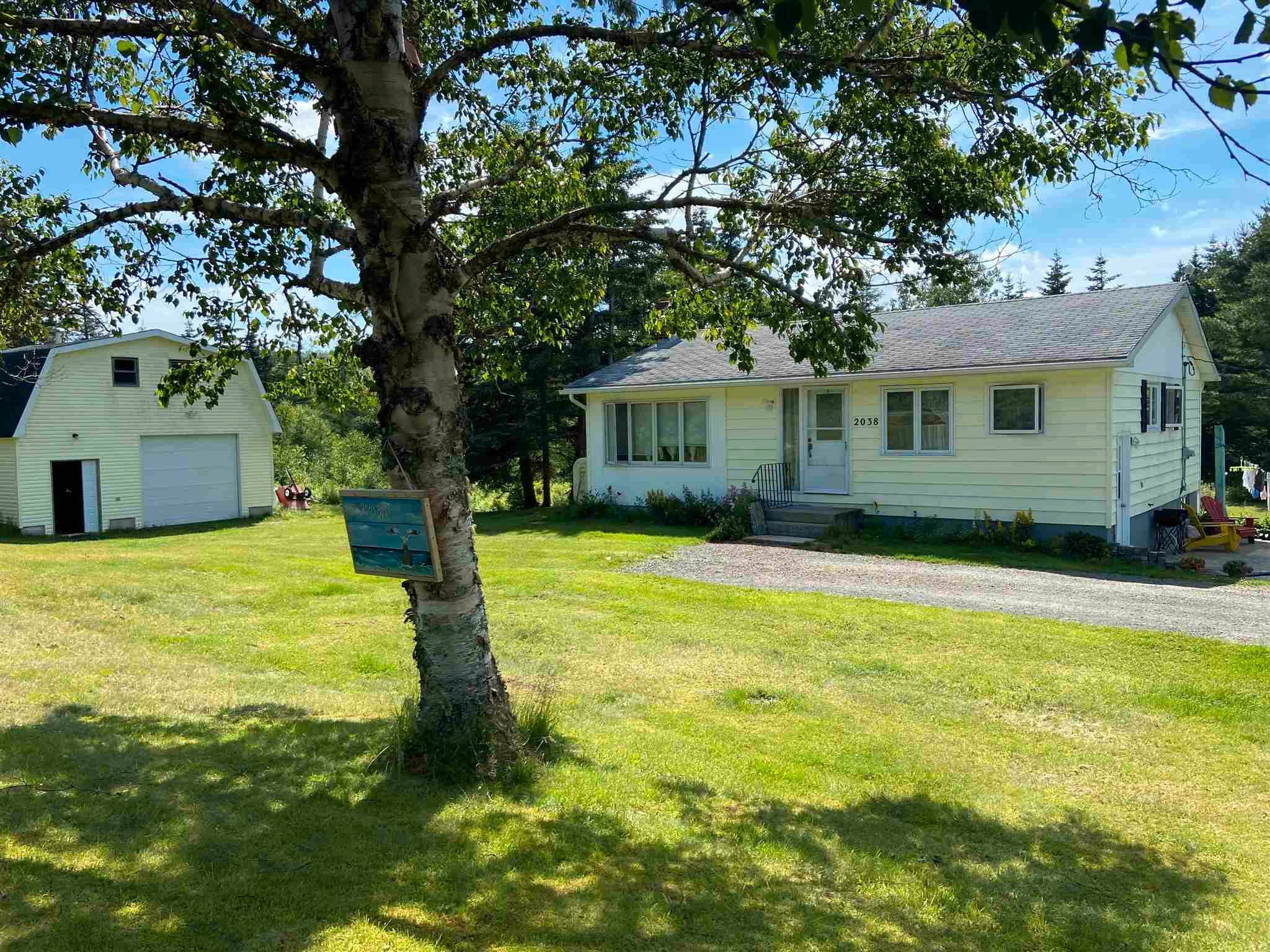 Main Photo: 2038 211 Highway in Indian Harbour Lake: 303-Guysborough County Residential for sale (Highland Region)  : MLS®# 202116449