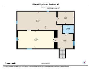 Photo 24: 26 Windridge Road: Exshaw Detached for sale : MLS®# A1089832