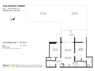 """Photo 14: 209 1215 PACIFIC Street in Vancouver: West End VW Condo for sale in """"1215 Pacific"""" (Vancouver West)  : MLS®# R2173461"""
