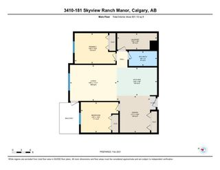 Photo 26: 3410 181 Skyview Ranch Manor NE in Calgary: Skyview Ranch Apartment for sale : MLS®# A1073053