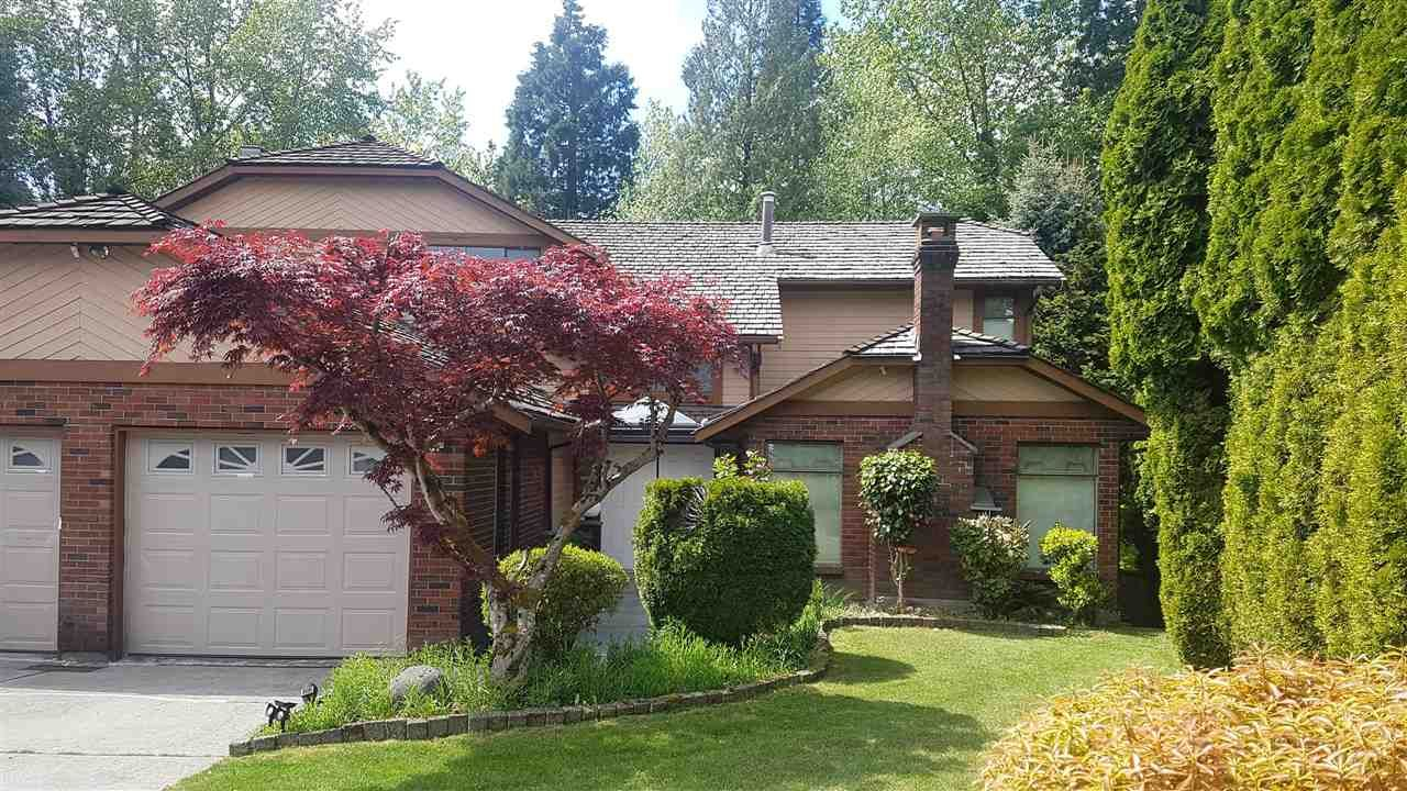 Main Photo: 7881 WOODHURST Drive in Burnaby: Forest Hills BN House for sale (Burnaby North)  : MLS®# R2576102