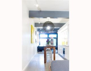 """Photo 6: 206 53 W HASTINGS Street in Vancouver: Downtown VW Condo for sale in """"PARIS ANNEX"""" (Vancouver West)  : MLS®# V740913"""