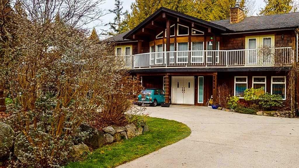"Main Photo: 7858 LOHN Road in Halfmoon Bay: Halfmn Bay Secret Cv Redroofs House for sale in ""WELCOME WOODS"" (Sunshine Coast)  : MLS®# R2533646"