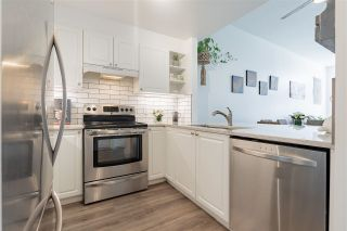 """Photo 6: 317 19528 FRASER Highway in Surrey: Cloverdale BC Condo for sale in """"The Fairmont"""" (Cloverdale)  : MLS®# R2579479"""