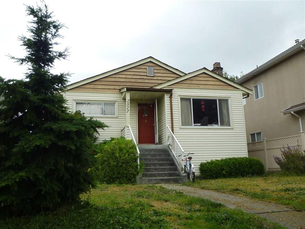 Main Photo: 2577 E 16 Avenue in Vancouver: Renfrew Heights House for sale (Vancouver East)  : MLS®# R2071771
