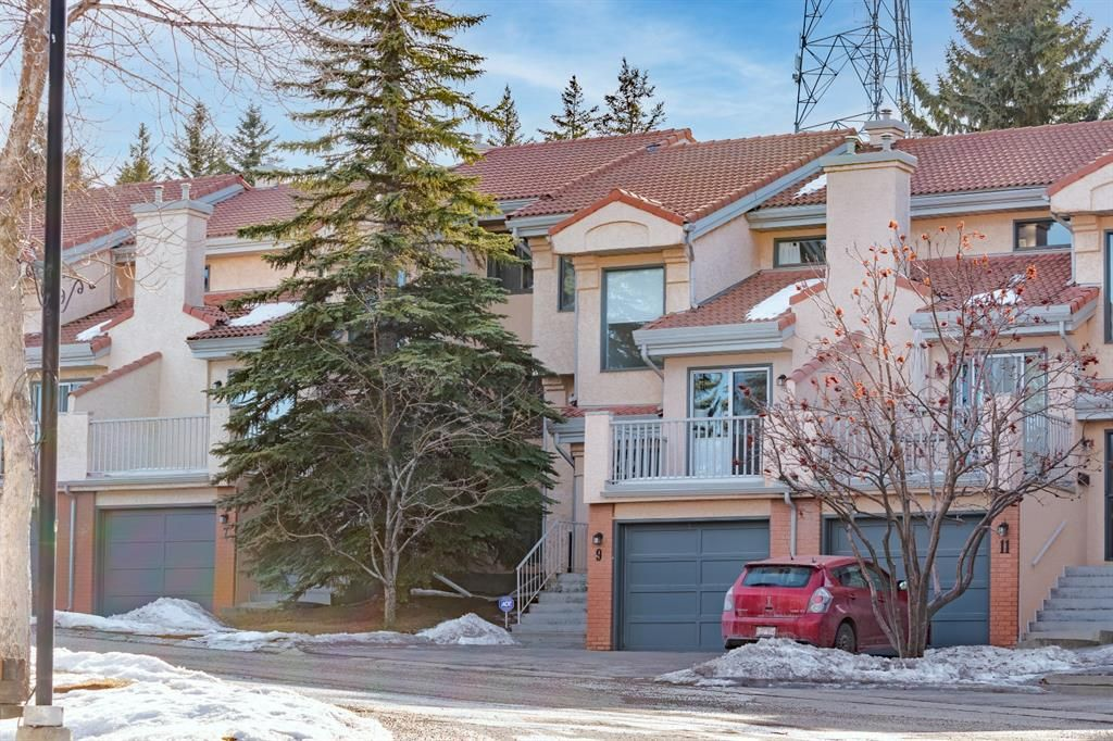 Main Photo: 9 5810 PATINA Drive SW in Calgary: Patterson Row/Townhouse for sale : MLS®# A1077604