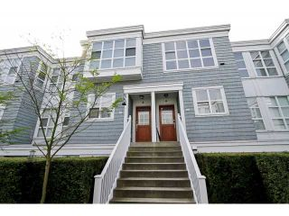 """Photo 1: 203 657 W 7TH Avenue in Vancouver: Fairview VW Townhouse for sale in """"THE IVY'S"""" (Vancouver West)  : MLS®# V1059646"""
