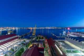 """Photo 1: 901 133 E ESPLANADE Avenue in North Vancouver: Lower Lonsdale Condo for sale in """"Pinnacle Residences at the Pier"""" : MLS®# R2605927"""