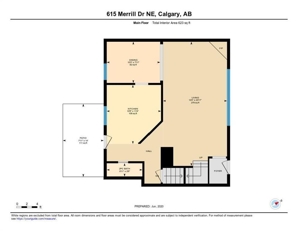 Photo 26: Photos: 615 Merrill Drive NE in Calgary: Winston Heights/Mountview Row/Townhouse for sale : MLS®# C4301720