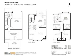 """Photo 20: 18 2458 PITT RIVER Road in Port Coquitlam: Mary Hill Townhouse for sale in """"SHAUGNESSY MEWS"""" : MLS®# R2232371"""