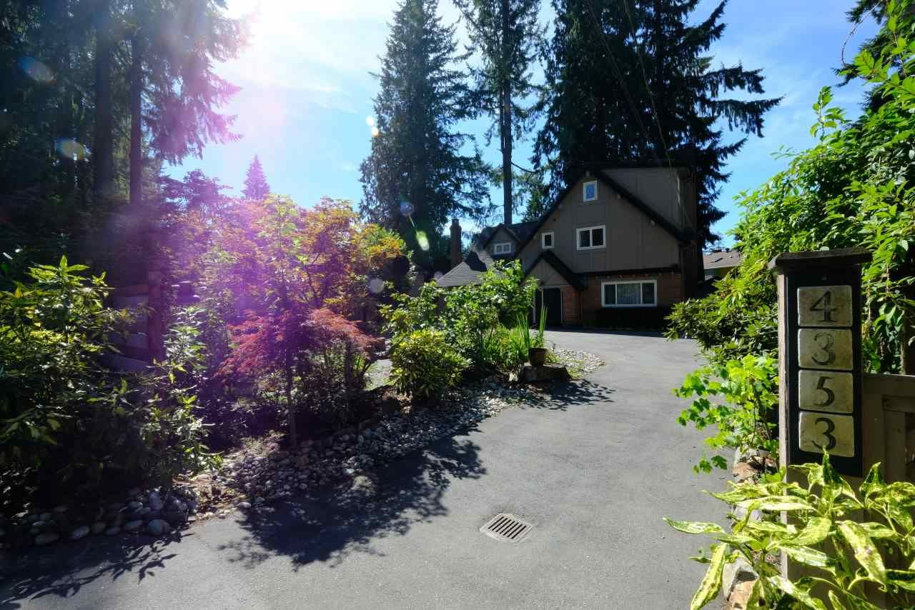Main Photo: 4353 CAPILANO Road in North Vancouver: Canyon Heights NV House for sale : MLS®# R2103234