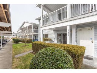 "Photo 1: 181 32691 GARIBALDI Drive in Abbotsford: Abbotsford West Townhouse for sale in ""Carriage Lane"" : MLS®# R2349295"
