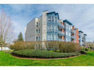 """Photo 3: 407 20277 53 Avenue in Langley: Langley City Condo for sale in """"THE METRO II"""" : MLS®# R2466451"""