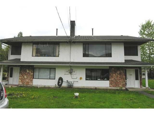 Main Photo: 1514 1516 MANNING Avenue in Port Coquitlam: Glenwood PQ Duplex for sale : MLS®# V892746