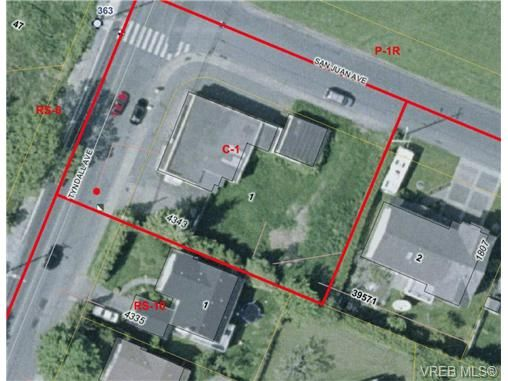 Main Photo: 4343 Tyndall Ave in VICTORIA: SE Gordon Head Unimproved Land for sale (Saanich East)  : MLS®# 515129