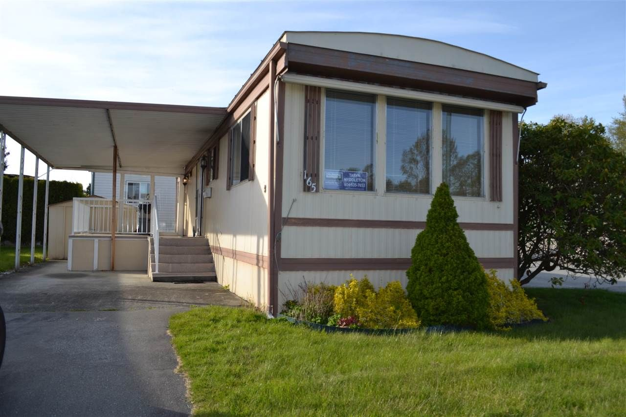 Main Photo: 165 1840 160 STREET in Surrey: King George Corridor Manufactured Home for sale (South Surrey White Rock)  : MLS®# R2158466