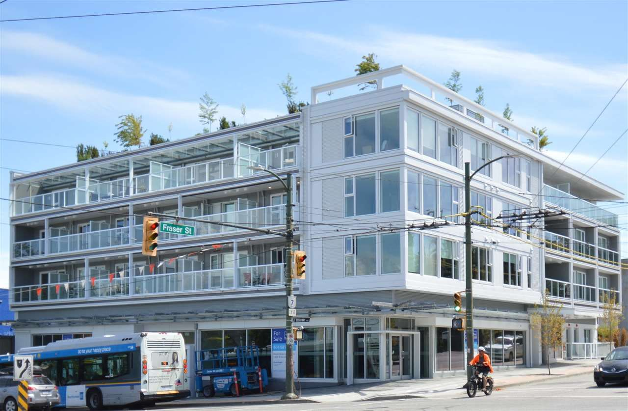 Main Photo: 211 2508 FRASER STREET in Vancouver: Mount Pleasant VE Condo for sale (Vancouver East)  : MLS®# R2589675