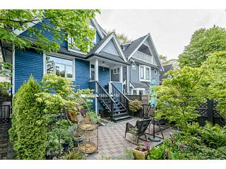Photo 1: 1809 E 7TH Avenue in Vancouver: Grandview VE 1/2 Duplex for sale (Vancouver East)  : MLS®# V1062864