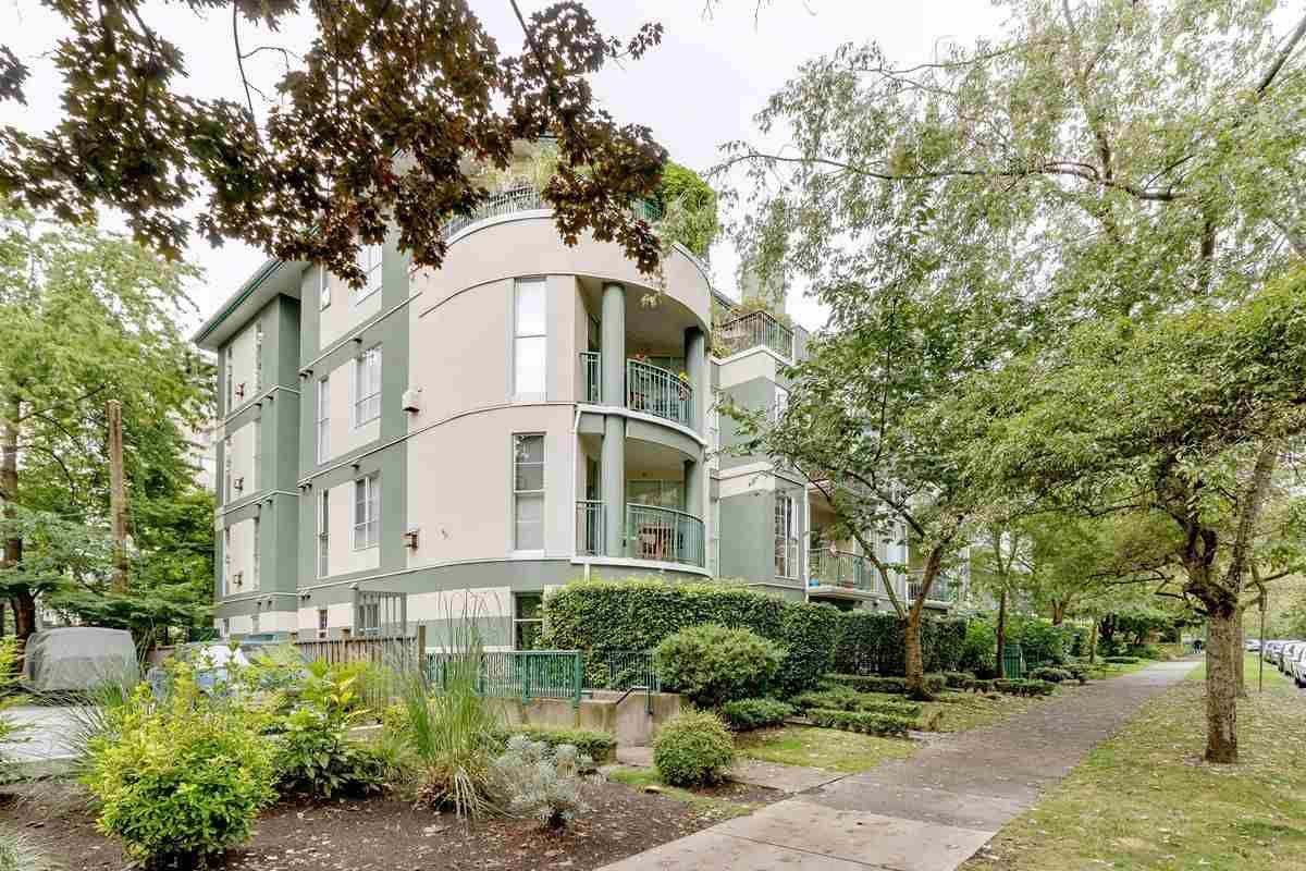 Main Photo: 101 1928 NELSON STREET in Vancouver: West End VW Condo for sale (Vancouver West)  : MLS®# R2484653