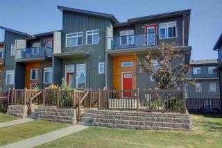 Photo 1: 7503 GETTY GA NW in Edmonton: Zone 58 Townhouse for sale : MLS®# E4075410