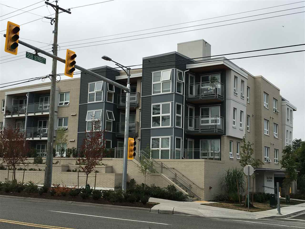"""Main Photo: 307 4815 55B Street in Delta: Hawthorne Condo for sale in """"THE POINTE"""" (Ladner)  : MLS®# R2203810"""