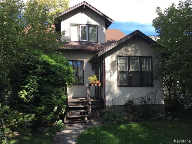 Main Photo: 287 Aberdeen Avenue in Winnipeg: North End Residential for sale (4A)  : MLS®# 1625712