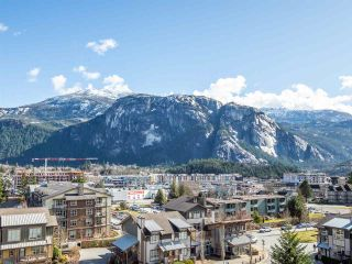 "Photo 2: 604 1211 VILLAGE GREEN Way in Squamish: Downtown SQ Condo for sale in ""Rockcliffe by Solterra"" : MLS®# R2444542"