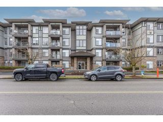 "Photo 1: 109 33338 MAYFAIR Avenue in Abbotsford: Central Abbotsford Condo for sale in ""The Sterling"" : MLS®# R2558844"