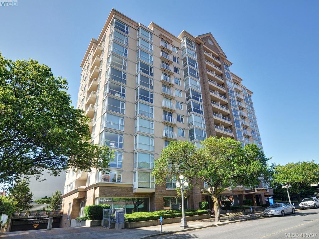 Main Photo: 709 835 View St in VICTORIA: Vi Downtown Condo for sale (Victoria)  : MLS®# 806352