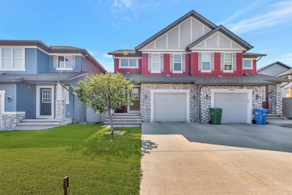 Main Photo: 567 PANAMOUNT Boulevard NW in Calgary: Panorama Hills Semi Detached for sale : MLS®# A1047979