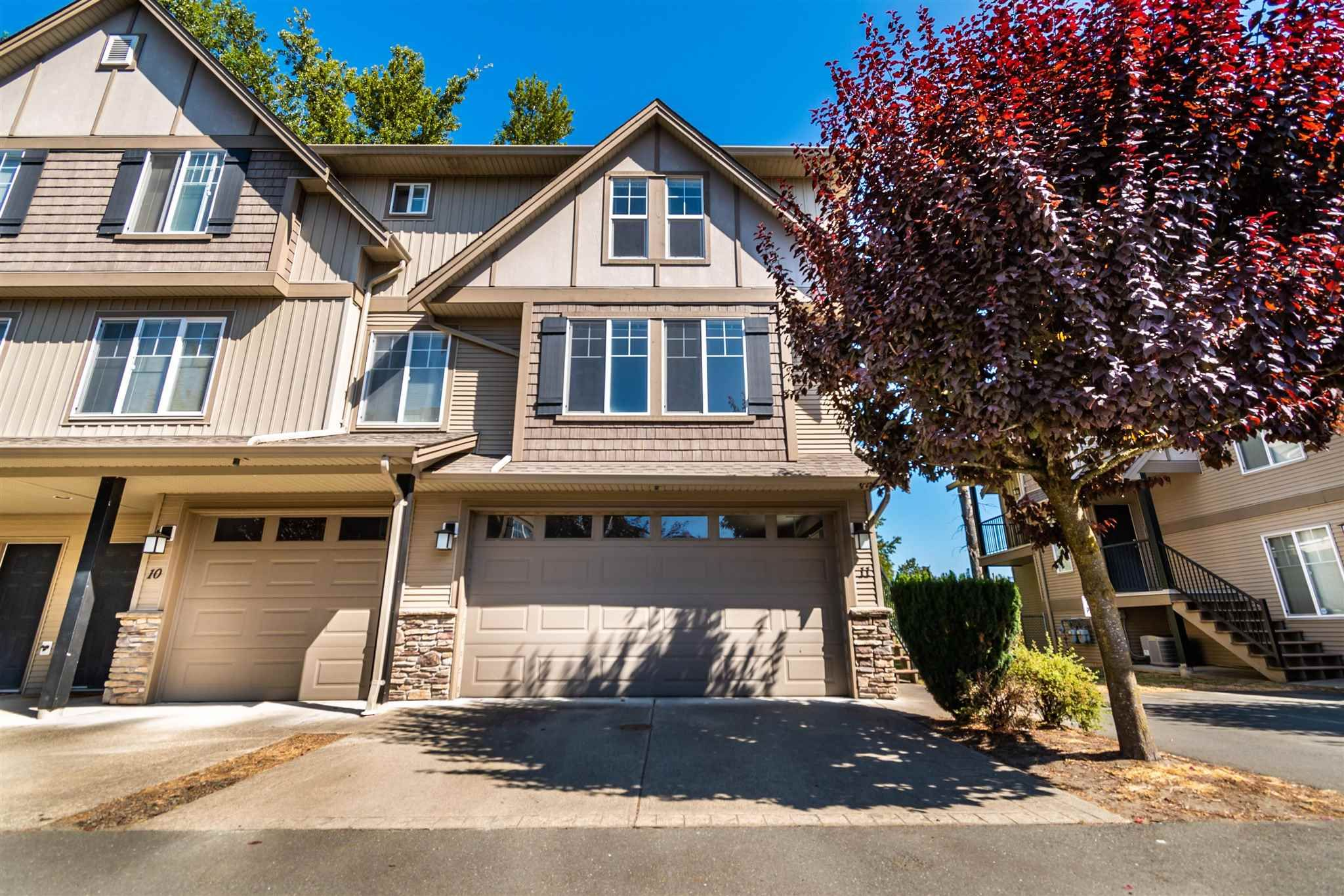 """Main Photo: 11 46321 CESSNA Drive in Chilliwack: Chilliwack E Young-Yale Townhouse for sale in """"Cessna Landing"""" : MLS®# R2606184"""