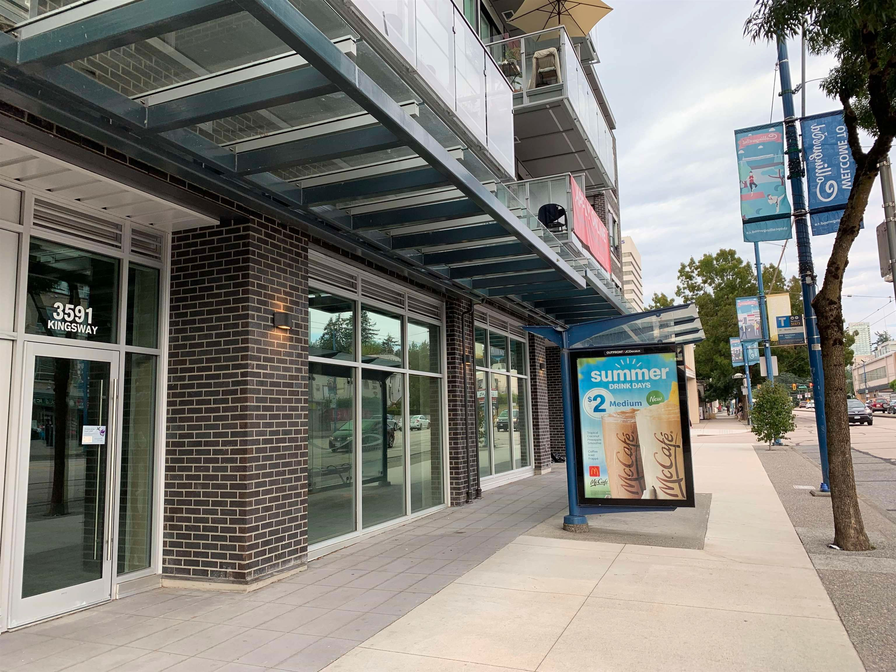 Main Photo: 3591 & 3593 KINGSWAY in Vancouver: Collingwood VE Retail for lease (Vancouver East)  : MLS®# C8040073