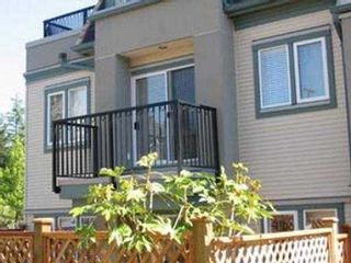"""Photo 2: 118 217 BEGIN ST in Coquitlam: Maillardville Townhouse for sale in """"PLACE FOUNTAINEBLEAU"""" : MLS®# V532016"""