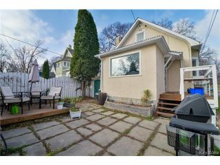 Photo 16: 106 Morley Avenue in WINNIPEG: Fort Rouge / Crescentwood / Riverview Residential for sale (South Winnipeg)  : MLS®# 1427462
